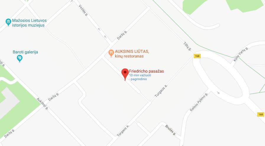 Restoranas Friedricho pasažas