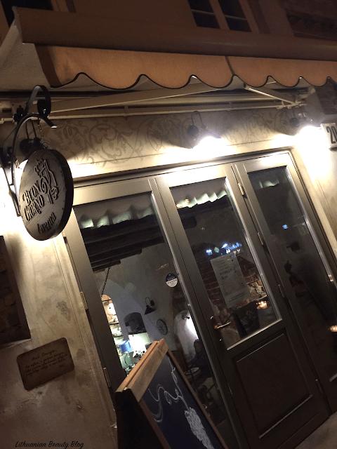 Restoranas Buon Giorno taverna